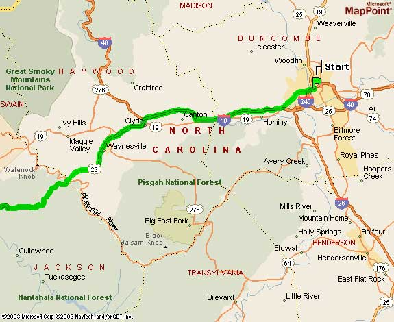 Nc Mountain Vacation Rental Cabin Directions From